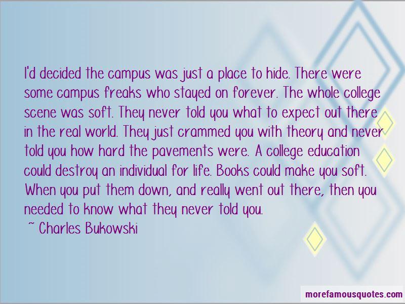 Campus Life Quotes Pictures 4
