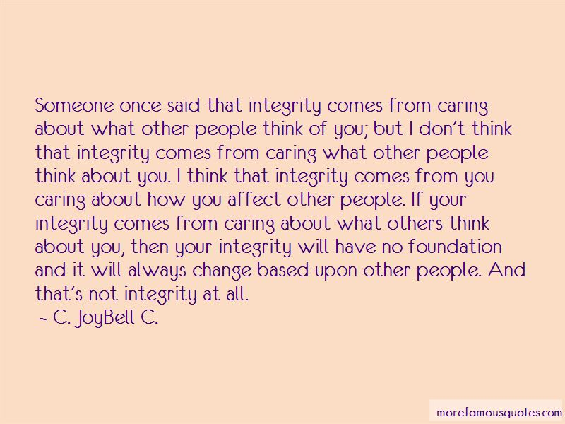 Caring About What Others Think Quotes Pictures 2