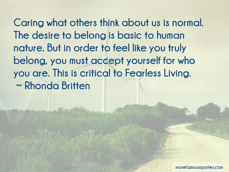 Caring About What Others Think Quotes Pictures 3