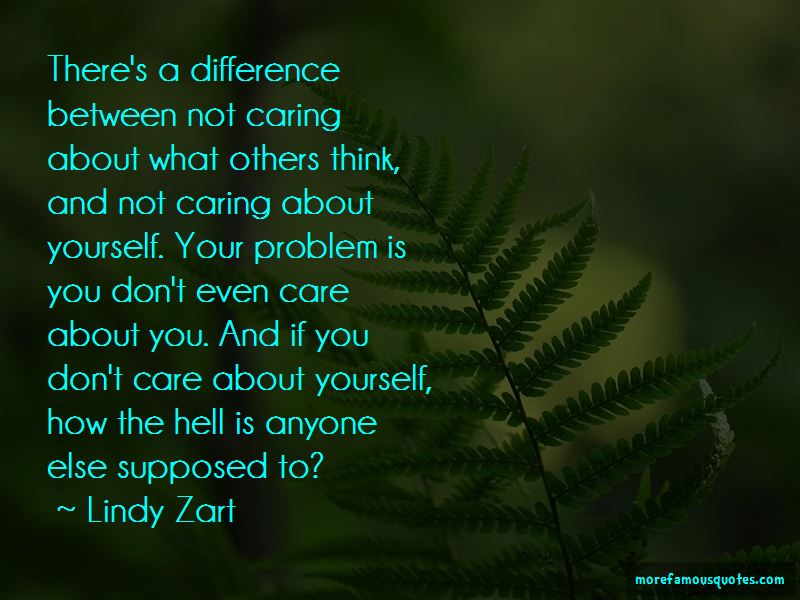 Quotes About Caring About What Others Think
