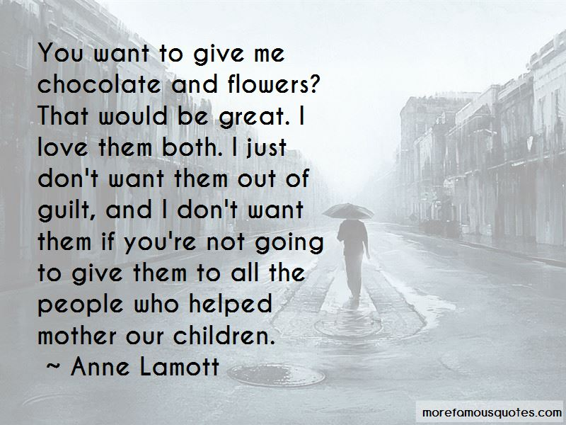 Quotes About Chocolate And Flowers