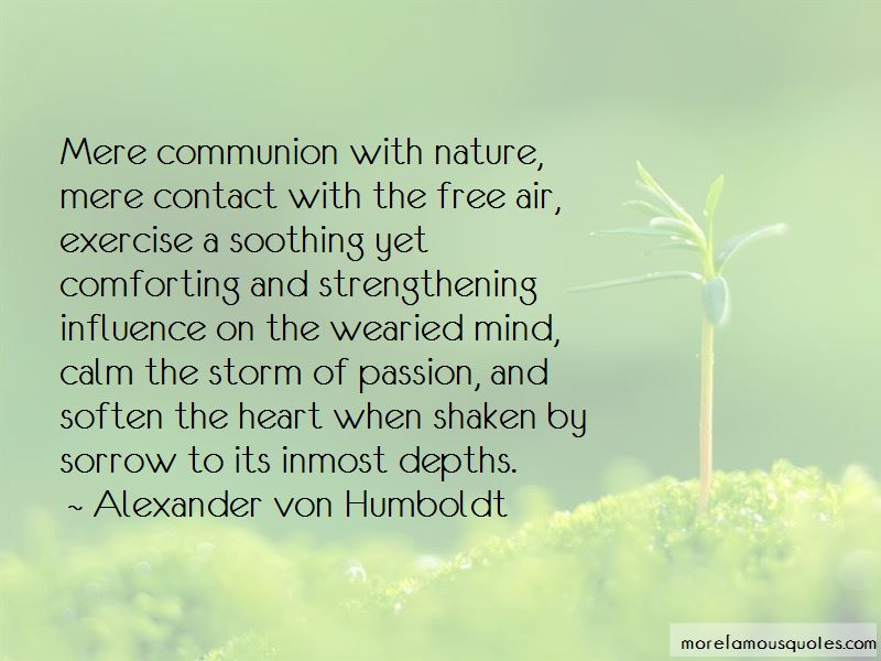 Quotes About Communion With Nature