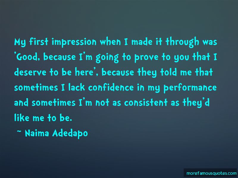 Consistent Performance Quotes Pictures 4