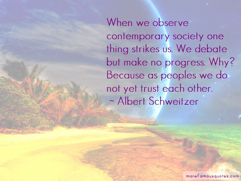 Quotes About Contemporary Society