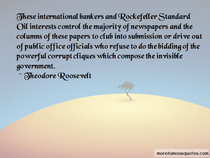 Quotes About Corrupt Bankers