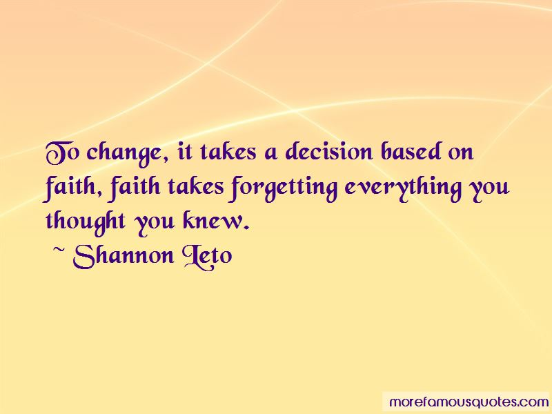 Quotes About Decision And Change