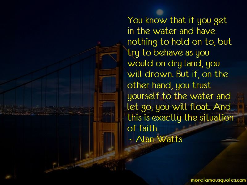 Quotes About Dry Land