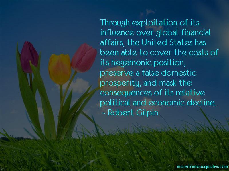 Quotes About Economic Decline