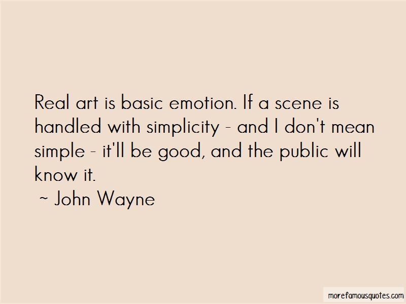 Quotes About Emotion And Art