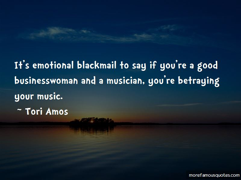 Quotes About Emotional Blackmail