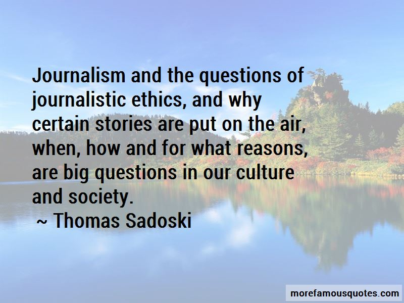 Quotes About Ethics In Journalism