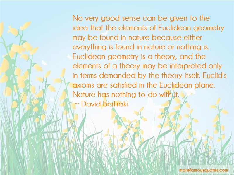 Euclidean Geometry Quotes Pictures 4