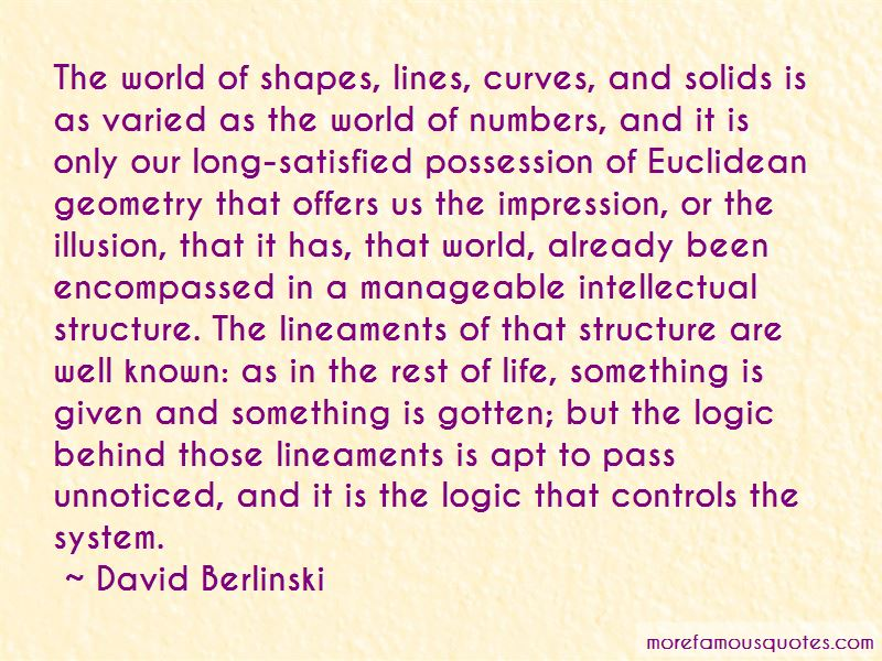 Quotes About Euclidean Geometry