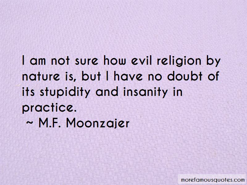 Evil And Insanity Quotes Pictures 2