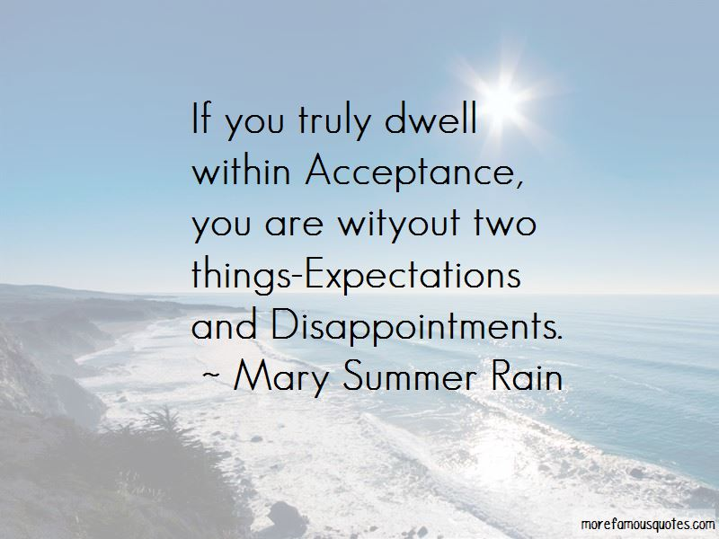 Quotes About Expectations And Disappointments