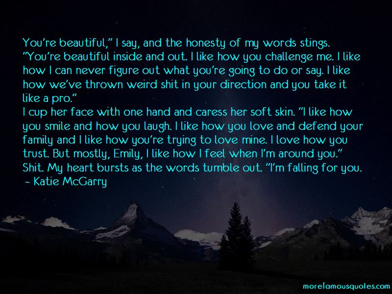 Quotes About Falling In Love With Her Smile