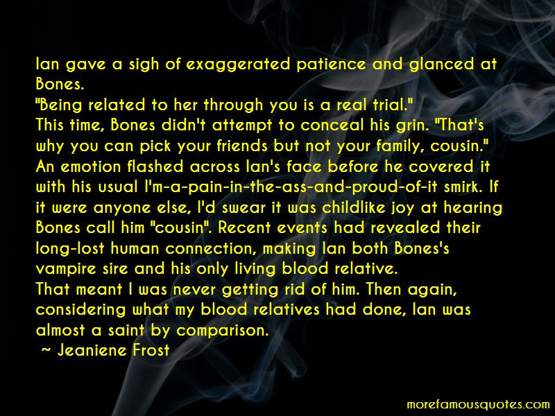 Quotes About Family Not Being Blood: top 8 Family Not Being ...