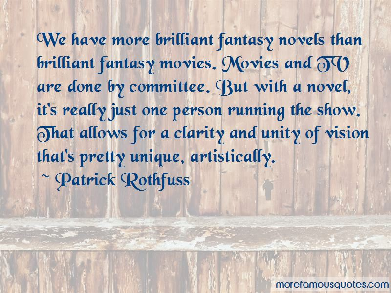 Quotes About Fantasy Movies