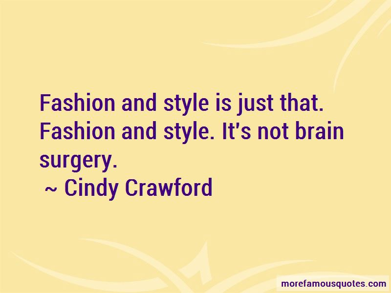 Quotes About Fashion And Style