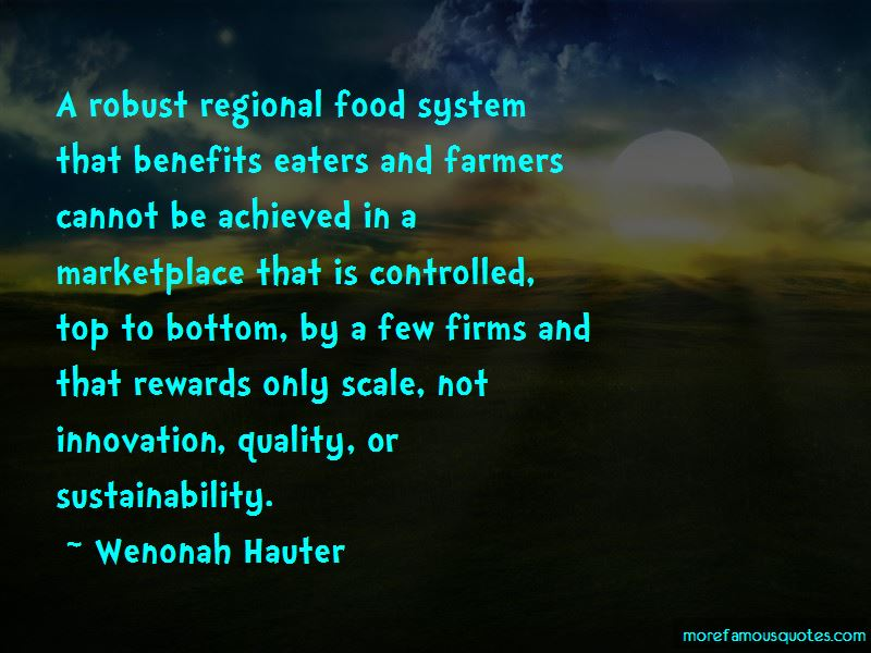 Food Sustainability Quotes Pictures 2