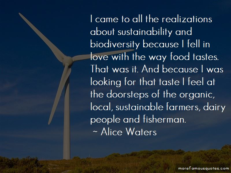 Food Sustainability Quotes Pictures 3