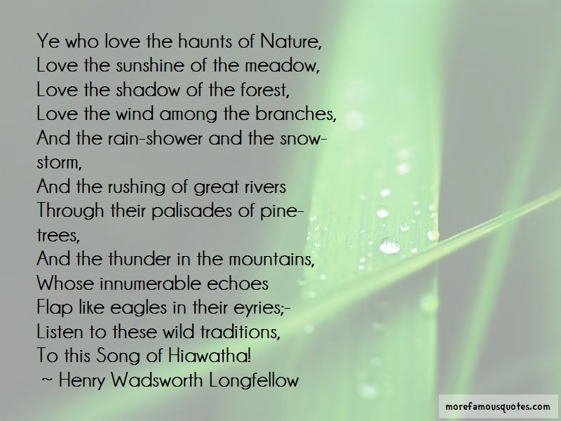 Forest And Nature Quotes Pictures 4