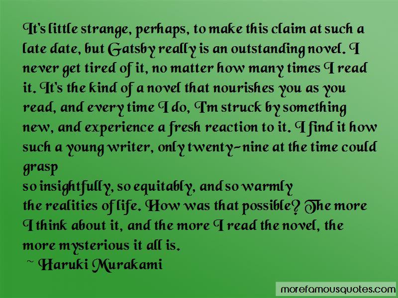 Quotes About Gatsby Mysterious