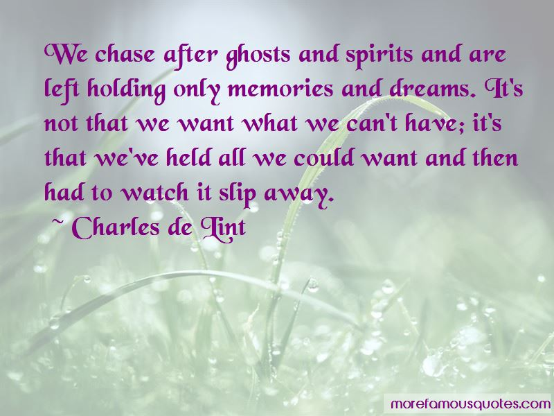 Quotes About Ghosts And Spirits
