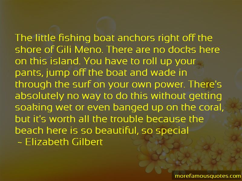 Quotes About Gili Island