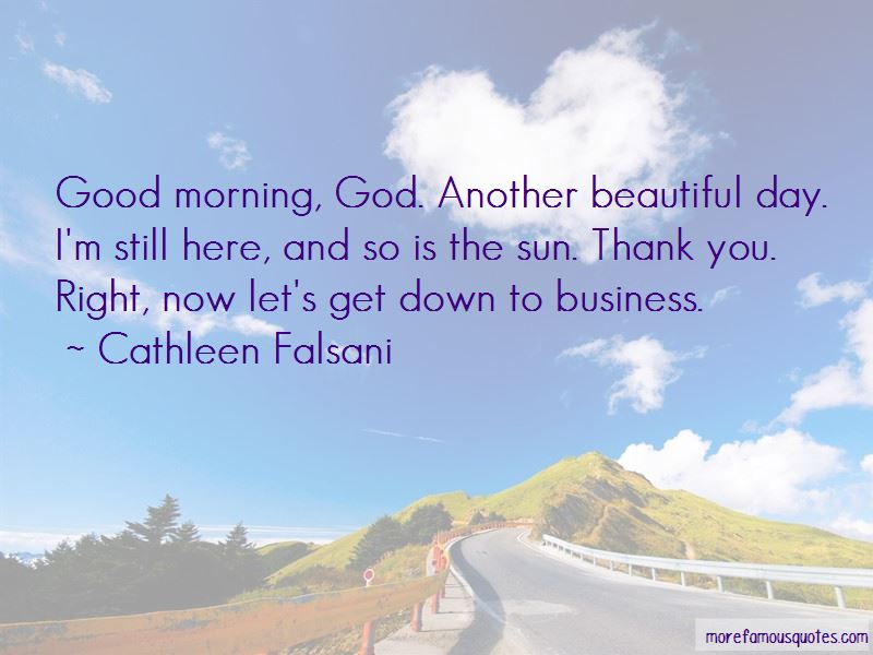 Quotes About Good Morning God