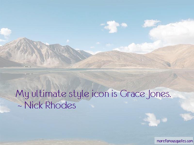 Quotes About Grace Jones