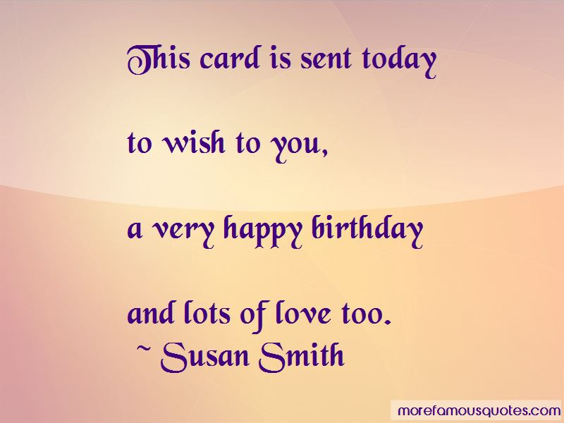 Quotes About Happy Birthday To My Love