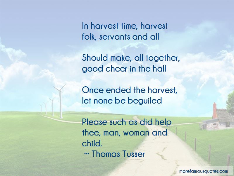 Harvest Time Quotes Pictures 4