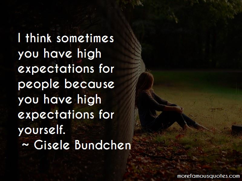 High Expectations For Yourself Quotes Pictures 2