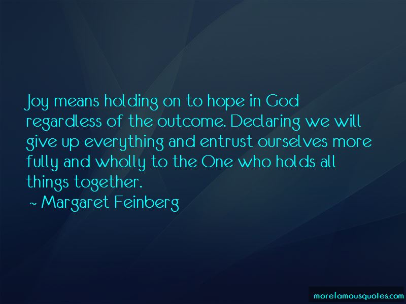 Holding On To Hope Quotes Pictures 3