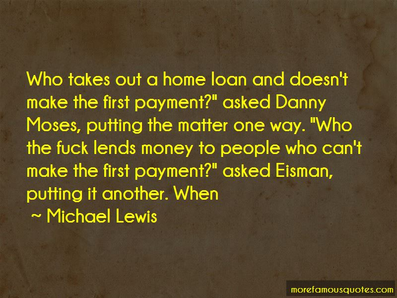 Quotes About Home Loan