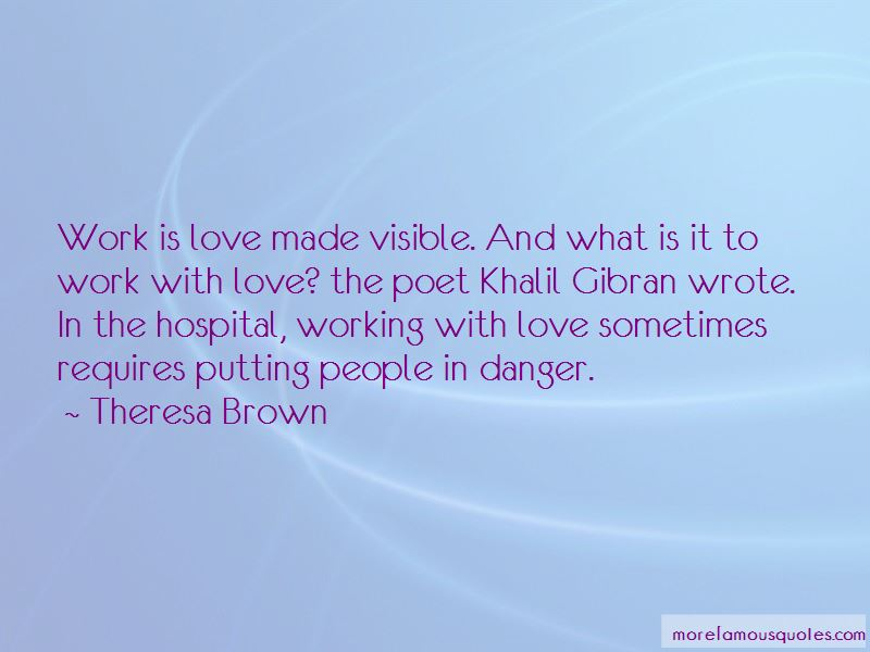 Quotes About Hospital Work