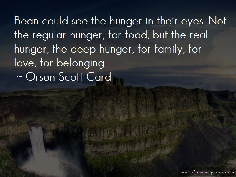 Quotes About Hunger For Food