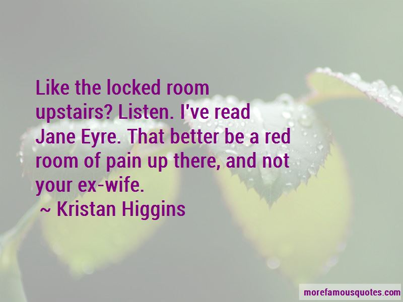 Quotes About Jane Eyre In The Red Room