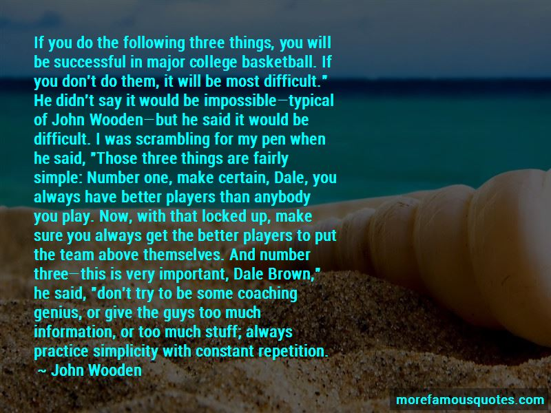 Quotes About John Wooden