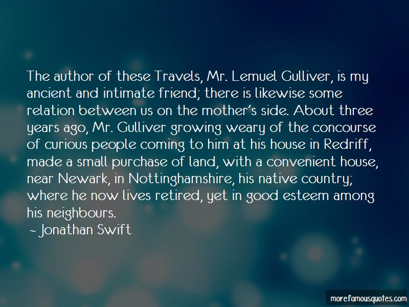 Quotes About Lemuel Gulliver