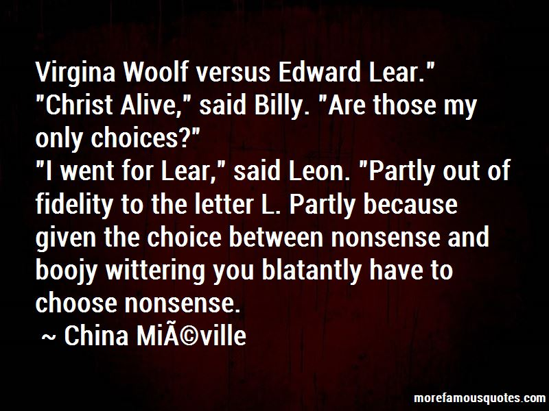 Quotes About Letter L