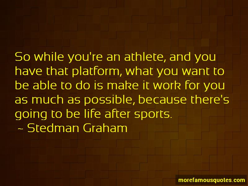 Quotes About Life After Sports