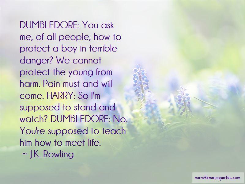Life Dumbledore Quotes Pictures 3
