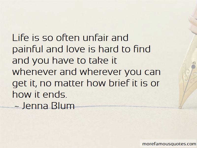 Life Unfair Love Quotes Pictures 4