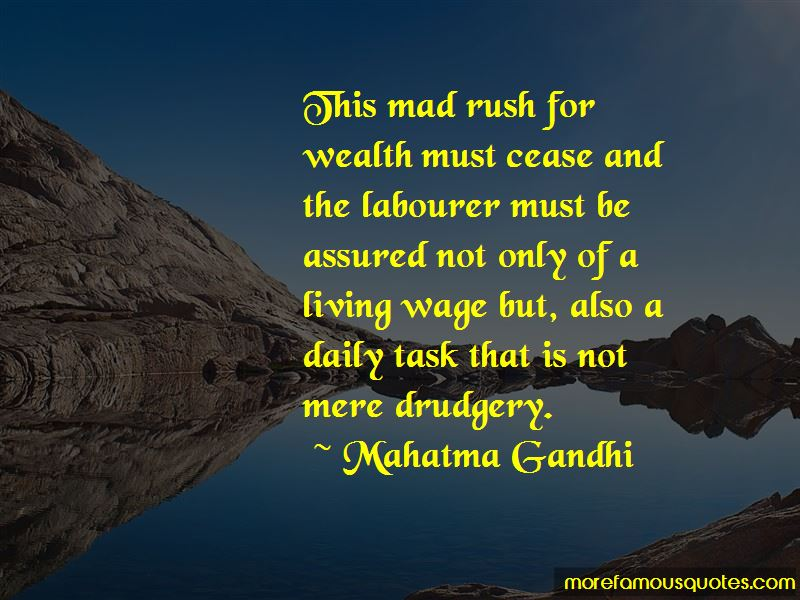Quotes About Living Wage