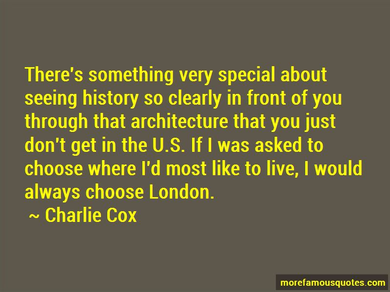 Quotes About London Architecture