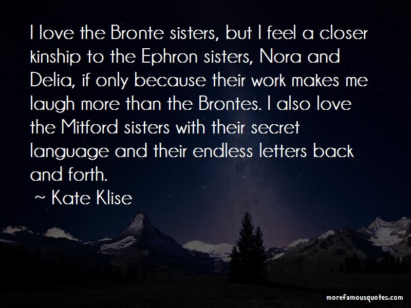 Quotes About Love Bronte