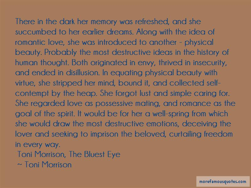 Quotes About Love In The Bluest Eye