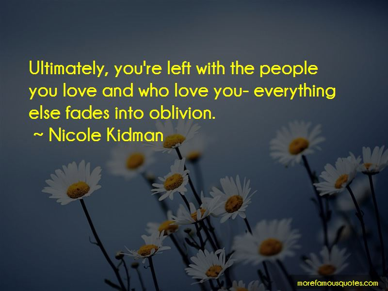 Quotes About Love Who Left You